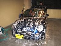 コペン洗車01